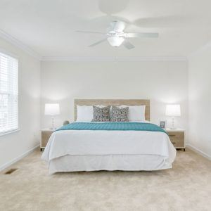 Master bedroom layout at Dodson Court