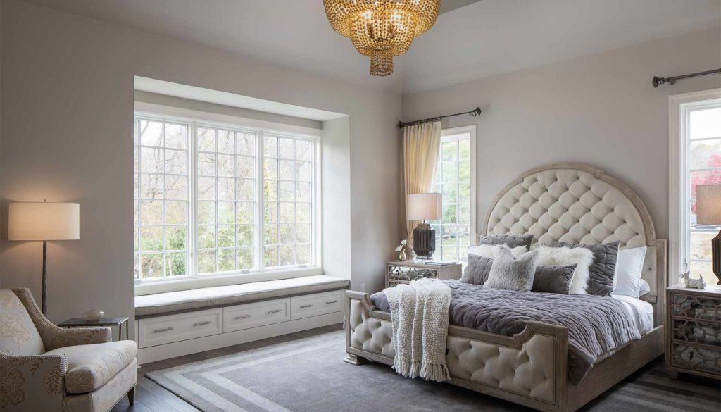 luxury bedroom options at Columbia Place in Delaware